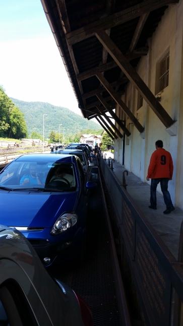 Getting on a train ( Brdo )