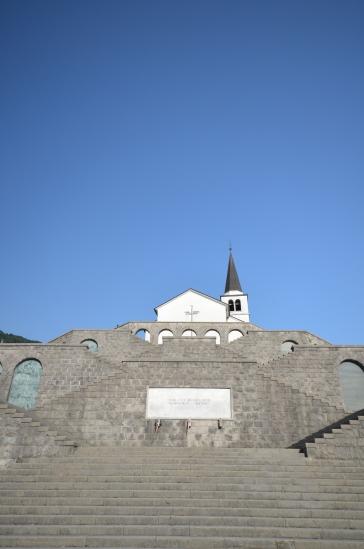 Italijanska kostnica v Tolmiu