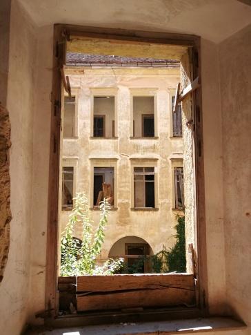 Pogled na notranje dvorišče