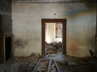 Notranjost gradu Podčetrtek