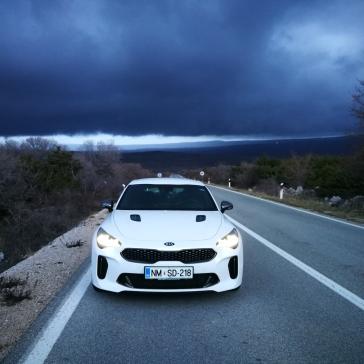 Bad weather... bad ass car... :-)