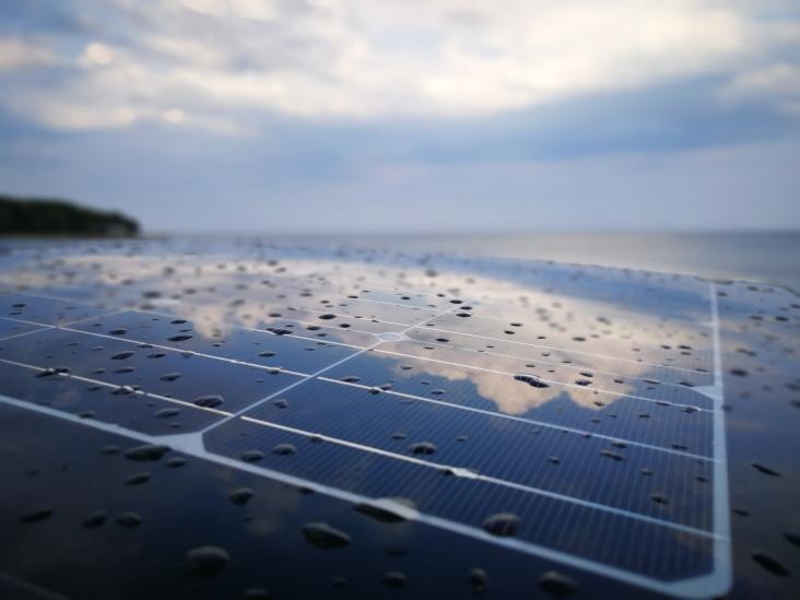 Solarne celice na strehi PRIUS-a