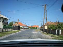 Lokalne ceste in vasi ob cesti v okrožju Zala, Madžarska