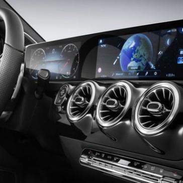 Zračniki v Mercedes Benzu