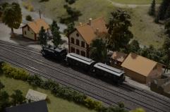 Maketa vlakov in pokrajine